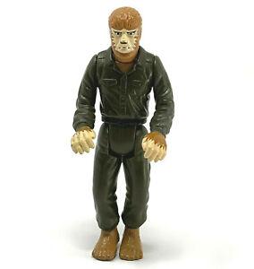 "Universal Monsters WOLFMAN Figure Toy Halloween Horror 1997 Burger King 4"" Green"