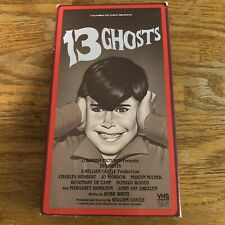 13 Ghosts William Castle VHS (1987) Great Condition!