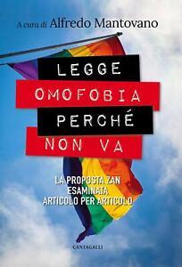 9788868799861 Legge omofobia, perché non va. La proposta Zan es... per articolo