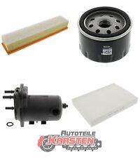 FilterSet (L): 1x Kraftstofffilter, 1x Luftfilter, 1x Ölfilter, 1x Innenraumfil