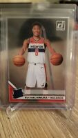 2019-20 Panini Clearly Donruss Rui Hachimura Rated Rookie RC Variation Acetate