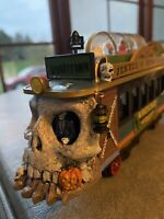 """Spooky Town """"Trolley"""" Jekyll & Hyde Wretched Line Caboose RARE - 6 Piece Set NIB"""