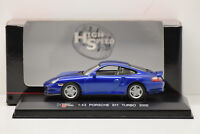 PORSCHE 911 TURBO 2000 HIGH SPEED 1/43 NEUF EN BOITE