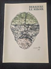 Derriere Le Miroir #208 February 1974 Jean-Paul Riopelle Maeght Editeur Complete