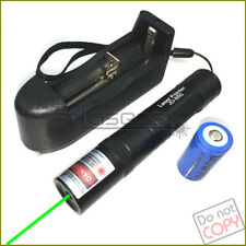G850 532nm Fixed Focus Green Laser Pointer Visible Laser Torch & Battery&Charger