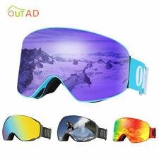 Adults Winter Snow Sport Goggles Ski Snowmobile Snowboard Skate Glasses Eyewear