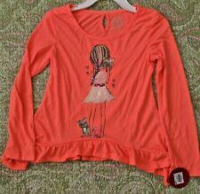 So Girl's Size 10 Long Sleeved Chestnut color MRSP $24
