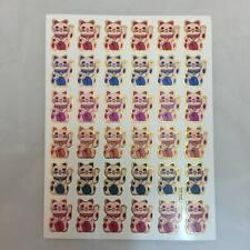 STICKER CAT JAPAN VINTAGE AGC SCRAPBOOK DIY CRAFT  PUFFY REWAR MATTE SCENT NE