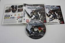 PLAY STATION 3 PS3 WARHAMMER 40000 SPACEMARINE COMPLETO PAL ESPAÑA