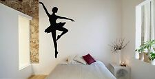 Wall Room Decor Art Vinyl Sticker Mural Decal Ballet Dance Women Ballerina FI378