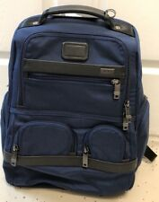 *NEW* Tumi Baltic Blue Compact Laptop Brief Backpack Travel Luggage Bag #26173
