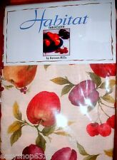 """FRUIT GARDEN FABRIC TABLECLOTH SIZE 60"""" x 84"""" BY BENSON MILLS 6-8 SEATS NEW"""