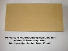 Schamott Kachelofen Schamotte Schamotteplatten 250x124x30