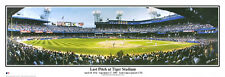 Detroit Tigers LAST PITCH AT TIGER STADIUM 1999 Historic Panoramic POSTER Print