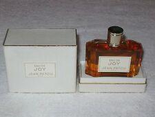Vintage Jean Patou Eau De Joy Splash Bottle EDP in Box 1 1/2 OZ - Unused/Full #2