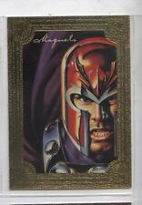 Marvel 1996 Masterpieces  Gold Gallery Insert #3 Magneto