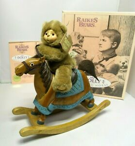 Robert Raikes DOLLY & HER ROCKING HORSE Limited Edition Disney Collab 1990 Box