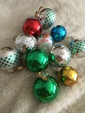 Christmas Job Lot Of Vintage  And Pre Owned  Decorations