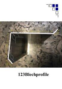 Ortgangblech Typ 2 Verkleidungsblech Ortgang Dachabschluss Ortgangwinkel 2m lang
