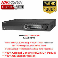 HIKVISION-USA DS-7316HQHI-SH 16CH 1080p Real-time Recording TurboHD DVR/New