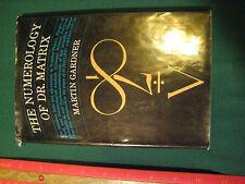 Martin Gardner The Numerology of Dr. Matrix 1967 1st Pr