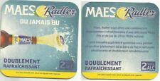 Maes Radler - Bierdeckel aus Belgien