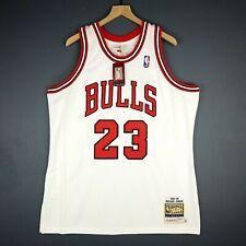100% Authentic Michael Jordan Mitchell & Ness 95 96 Bulls Jersey Size 48 XL Mens