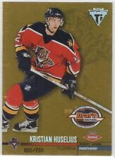 KRISTIAN HUSELIUS FLORIDA PANTHERS 01-02 TITANIUM DRAFT EDITION ROOKIE /780 #132