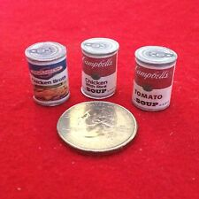 "1:6 Handmade miniature for 11""-12"" size dolls - Canned food #4"