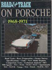 PORSCHE 907 908 911 911 e 911S 9117 912 914 914/6 & 917 1968-1971 roadtests LIBRO
