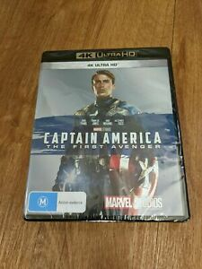 Captain America The First Avenger 4k Ultra HD Brand New and Sealed