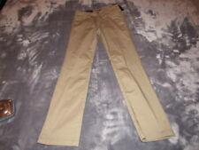 7 FOR ALL MANKIND BOYS SLIMMY STRAIGHT LEG CHINO PANTS, GREEN, NWT, 7FBB3020, 10