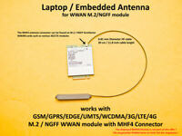MHF4 Laptop Embedded Antenna for ME906E ME936 EM7455 EM7355 EM7430 EM8805 EM7305