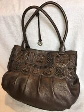 Brighton Nala Pewter Leather Purse Masterpiece Collection EUC