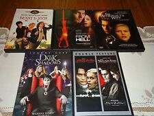 Johnny Depp 6 DVD Set Sleepy Hollow From Hell Sweeney Todd Benny & Joon MORE