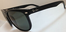Mens Ray-Ban Sunglasses Black Frame Green Polarized G-15 RB4147 601/58 56MM LENS
