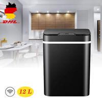 12 L Küchen Mülleimer Automatischer Sensor Abfalleimer Mülltrenner Müllsammler