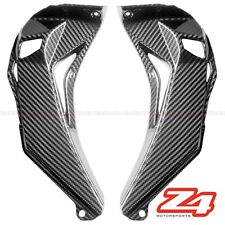 2016-2018 ZX-10R Upper Front Dash Air Intake Ram Cover Cowl Fairing Carbon Fiber