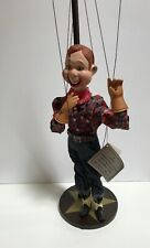 Howdy Doody Doll, 1997 The Danbury Mint, Great Condition, In Box, Hat And Stand