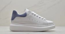Alexander McQueen Sports shoes, men's styles, small white shoes blue