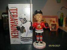 CHICAGO BLACKHAWKS NHL TEUVO TERAVAINEN BOBBLEHEAD SGA MESIROW FINANCIAL NIB