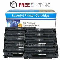 10 PK CF283X 83X Toner Cartridge Black For HP LaserJet Pro M201n M201dw M225dn
