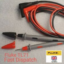 Fluke TL71 10A Hard Point Test Leads Set for Digital Multimeter Meter Probes