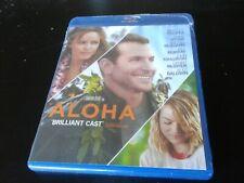 Aloha (Blu-ray, 2015) brand new sealed