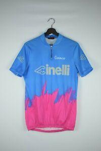 CINELLI TOMMASO Made in Italy Women Bike Jersey Pink/Blue/Purple Size 5