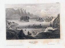 GULLO FALL Trollhàtta-StSt. um 1840 BIH-10,0x15,5 cm