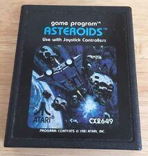 Asteroids  (Atari 2600, 1981) Vintage Video Game Retro Gaming