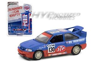 GREENLIGHT 1:64 1995 FORED ESCORT RS STP DIE-CAST BLUE / RED 41120-E