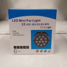 Eliminator Mini Par RGBW LED 12x 1 Watt RGBW LED Par Light