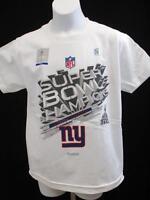 New Super Bowl Champions XLVI New York Giants Unisex Youth Size 8 S Small Shirt